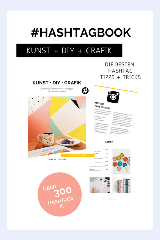 #HASHTAGBOOK MINI Kunst+DIY+Grafik